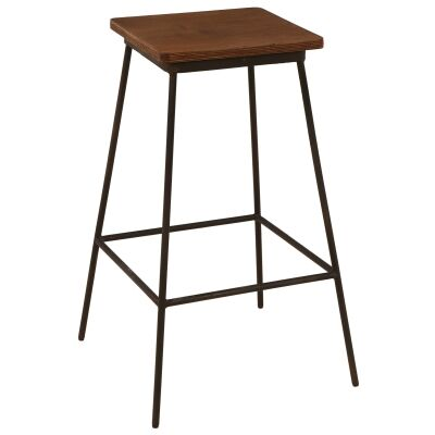 Brian Commercial Grade Metal Counter Stool, Set of 2