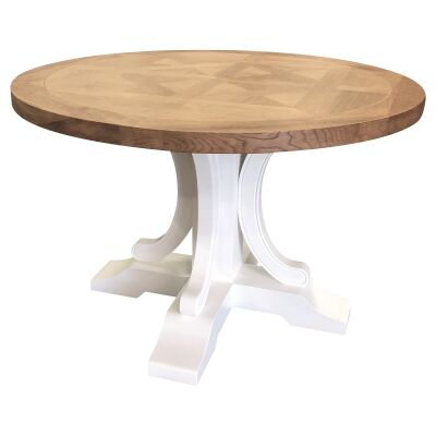 Bellevue Timber Round Dining Table, 120cm