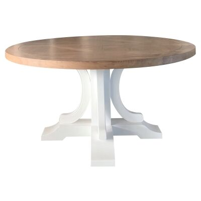 Bellevue Timber Round Dining Table, 150cm