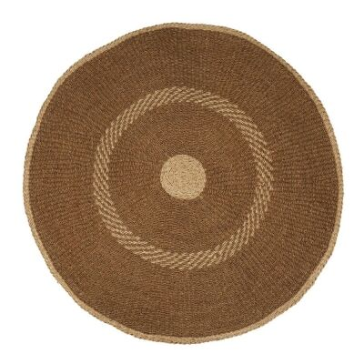 Harley Woven Seagrass Round Rug, 150cm