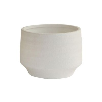 Sopa Cement Pot, Small, Ivory