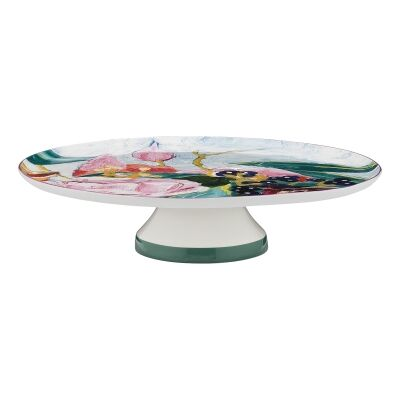 Ecology Bloom New Bone China Footed Cake Stand