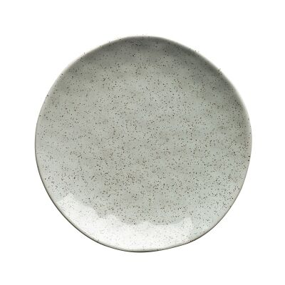 Ecology Speckle Stoneware Side Plate, Duck Egg