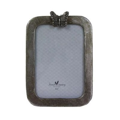 """Butterfly Resin Photo Frame, 4x6"""""""