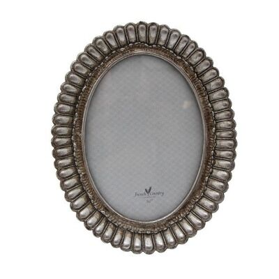 """Fanned Resin Oval Photo Frame, 5x7"""""""