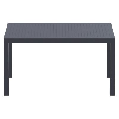 Siesta Ares Indoor / Outdoor Dining Table, 140cm, Anthracite