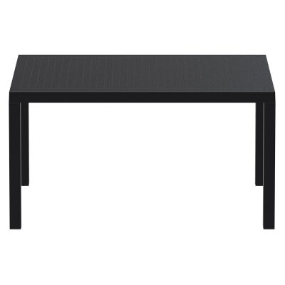 Siesta Ares Indoor / Outdoor Dining Table, 140cm, Black