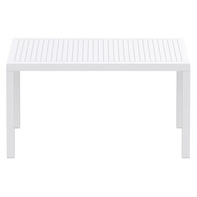Siesta Ares Indoor / Outdoor Dining Table, 140cm, White