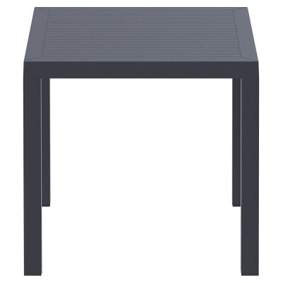 Siesta Ares Indoor / Outdoor Square Dining Table, 80cm, Anthracite
