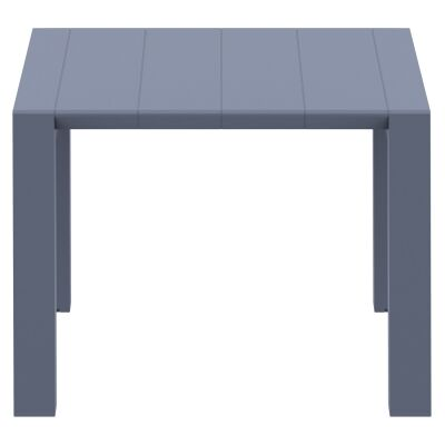Siesta Vegas Commercial Grade Outdoor Extendible Dining Table, 100-140cm, Anthracite