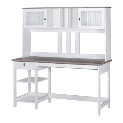 Broweville Writing Desk with Hutch, 150cm