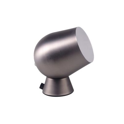 Fokus Iron Touch Table Lamp, Silver