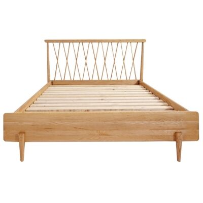 Wolake Ash Timber Bed, Queen