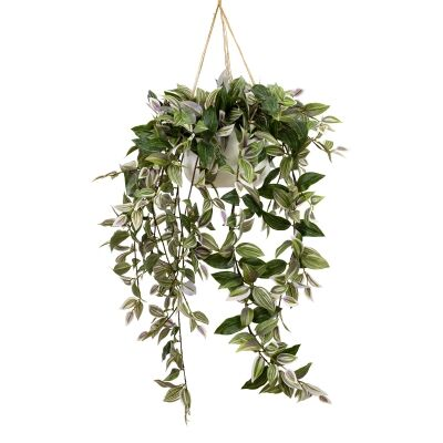 Glamorous Fusion Artificial Wandering Dew in Hanging Pot, 120cm