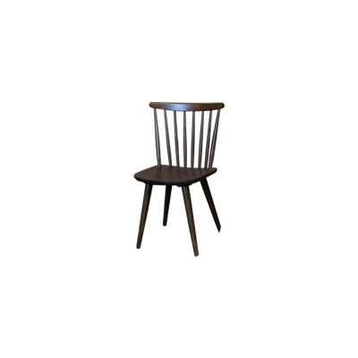 New Auber Timber Dining Chair, Walnut