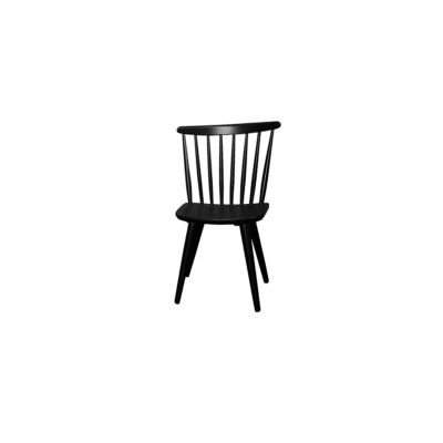 New Auber Timber Dining Chair, Black
