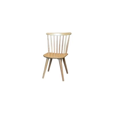 New Auber Timber Dining Chair, Natural
