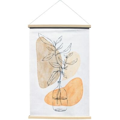 """""""Fortuity"""" Hanging Scroll Canvas Wall Art Print, No.1, 90cm"""