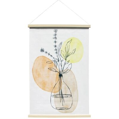 """""""Fortuity"""" Hanging Scroll Canvas Wall Art Print, No.2, 90cm"""
