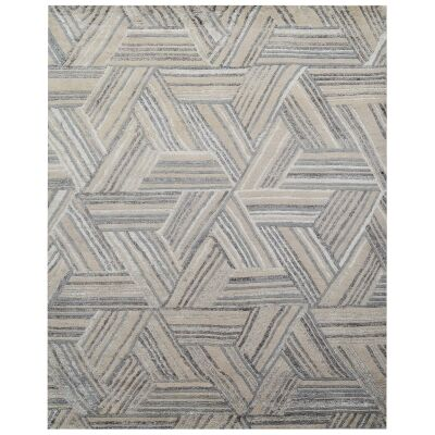 Fulham Hand Knotted Wool & Bamboo Silk Rug, 303x242cm