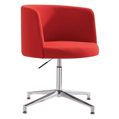 Hula Fabric Breakout Chair, Red