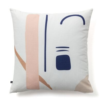 Leonie Cotton Fabric Scatter Cushion, No.1