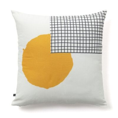 Lyall Cotton Fabric Scatter Cushion, No.2