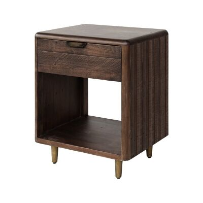 Lineo Reclaimed Timber Corner Table