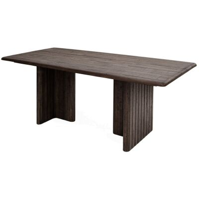 Lineo Reclaimed Timber Dining Table, 200cm