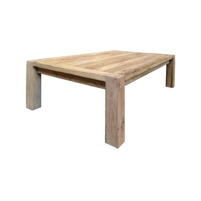 Rions Reclaimed Elm Timber Coffee Table, 140cm