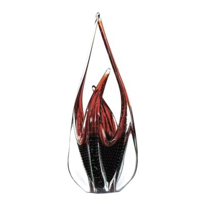 Hydria Art Glass Abstract Sculpture