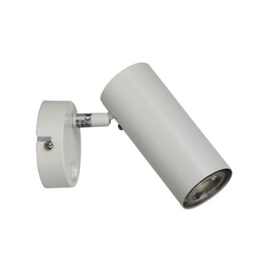 Ultra Switched Metal Wall Light, White