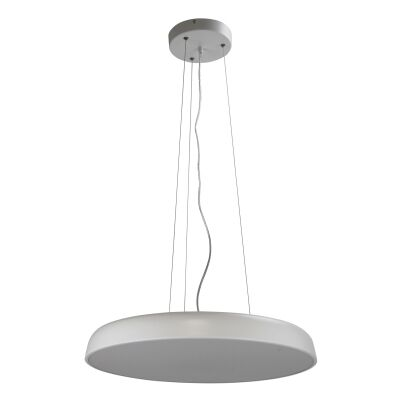 Madison Dimmable Colour Changing LED Pendant Light, Large, White