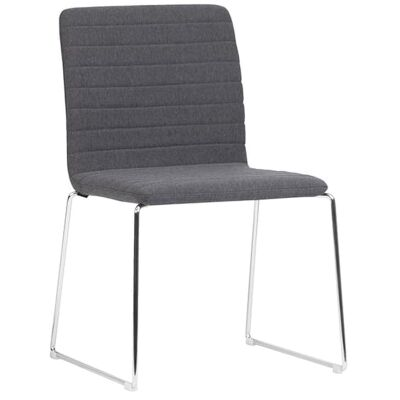 Raven Fabric Breakout Chair, Charcoal