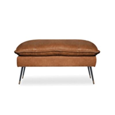 Marly Leather Footstool