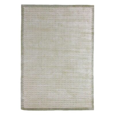 Luxe Hand Loomed Spotted Rug, 300x400cm, Beige