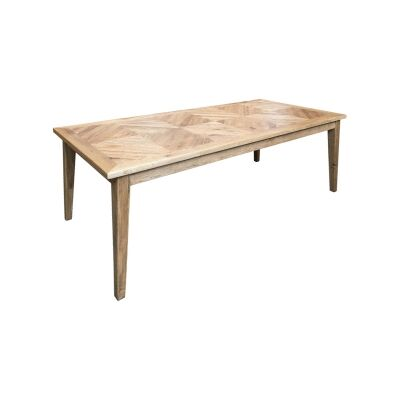 Ardentes Oak Timber Dining Table, 200cm