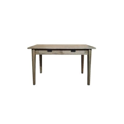 Lavialle Oak Timber Console Table, 120cm