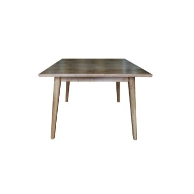 Lavialle Oak Timber Square Dining Table, 90cm