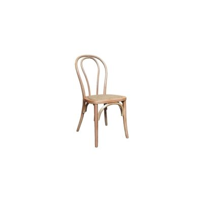 Maillet Stackable Bentwood Dining Chair, Natural