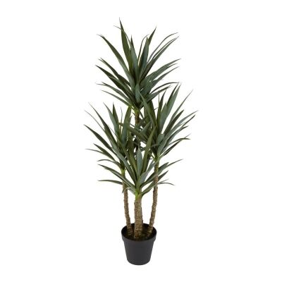 Potted Artificial Yucca Branches, 152cm