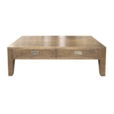 Roanne Oak Timber Coffee Table, 120cm, Antique Natural
