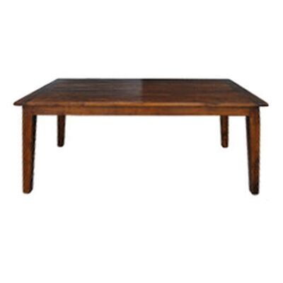 Roanne Oak Timber Dining Table, 210cm, Antique Brown