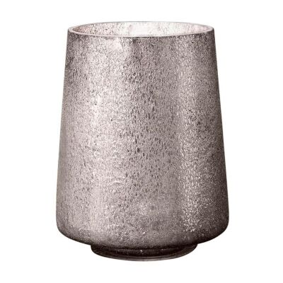 Montmartre Art Glass Table Lamp, Small, Pewter