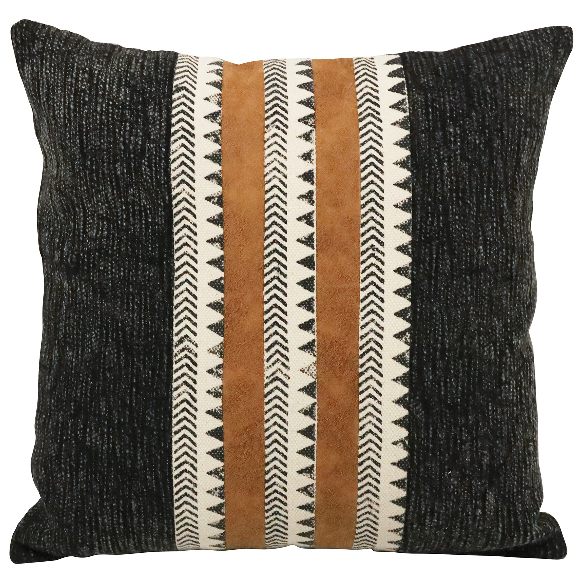 Carma Suede & Cotton Scatter Cushion