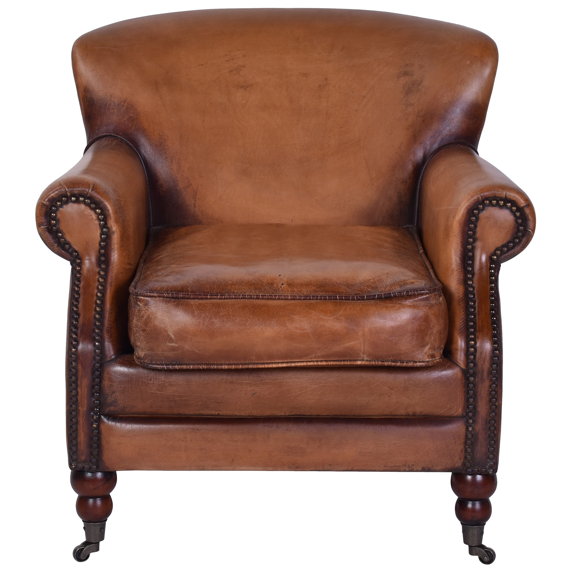 Scotter Leather Armchair