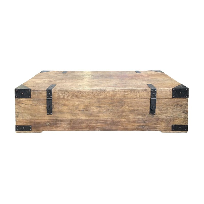 Maksim Reclaimed Elm Timber Trunk Coffee Table, 160cm, Natural