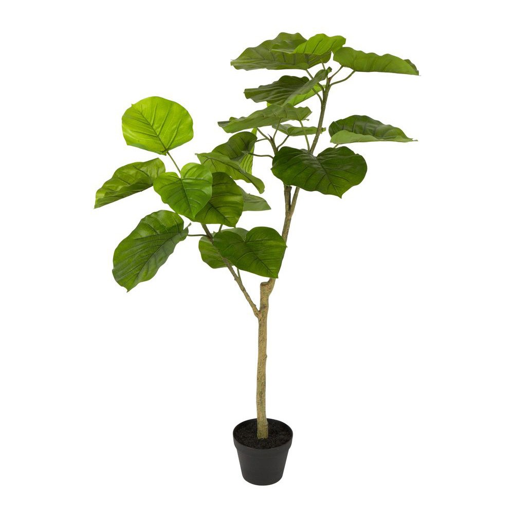 Real Touch Artificial Ficus Umbellata in Pot, 120cm