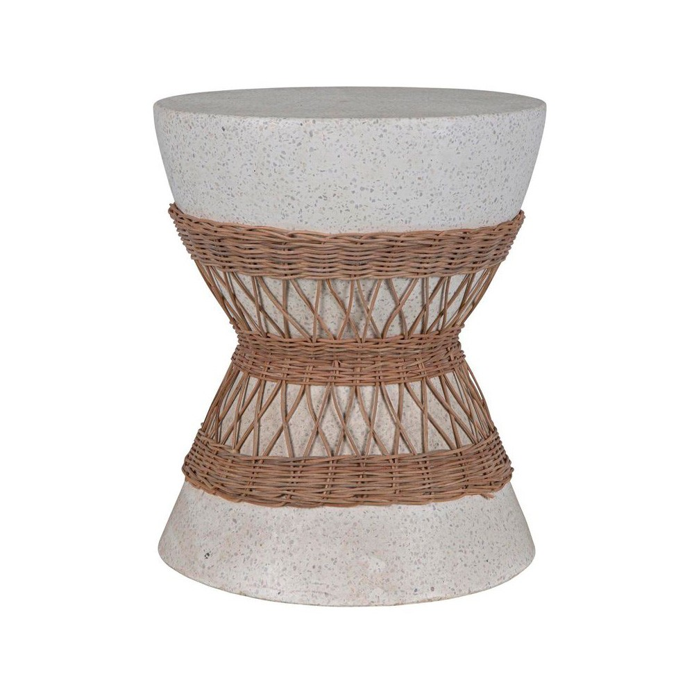Vedure Terrazzo Accent Stool / Side Table