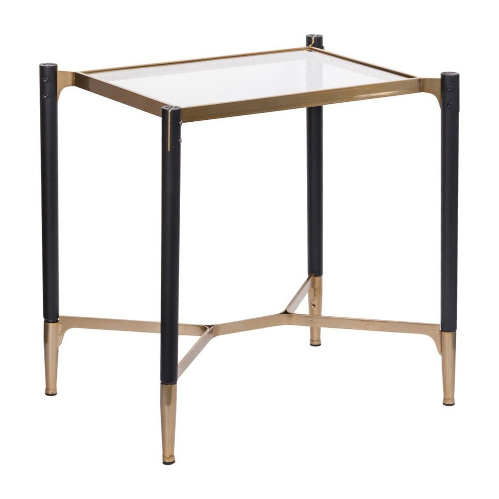 Parkview Glass Top Side Table